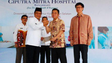 Ciputra Resmikan Rumah Sakit Ketiga di Banjarmasin