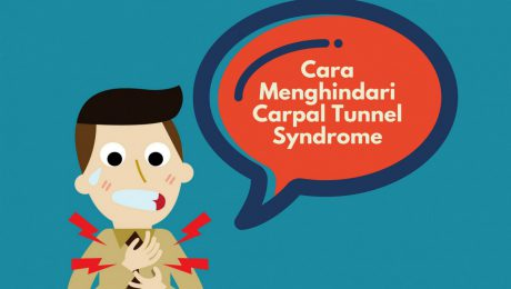 cara menghindari carpal tunnel syndrome